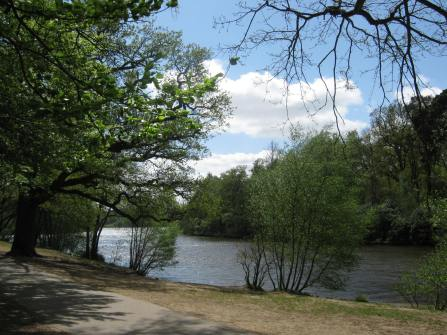 Virginia Water Lake, Surrey, UK