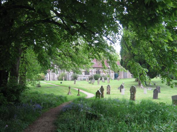 Churchyard - New Forest, UK
