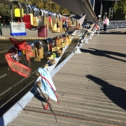 Padlocks on Southbank
