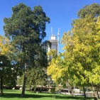 Outside the Convention Centre, Melbourne